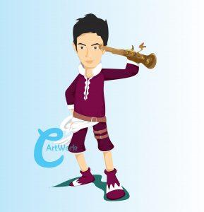 karikatur-baby5-cartoon-surabaya-onepiece