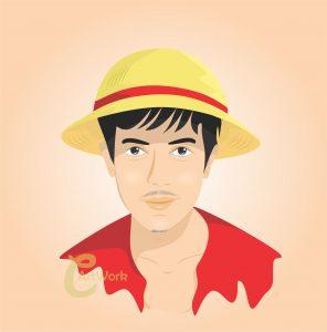 karikatur-monkeydluffy-sunnysuwanmethanon-cartoon-surabaya-onepiece