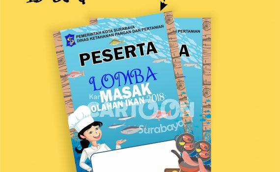 Jasa Desain Banner Online Cartoon Surabaya
